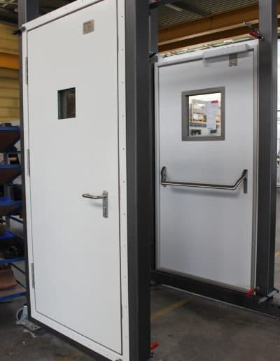 H60 Single hinged Fire Door