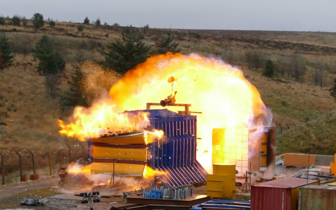 InterDam Launches Cost Effective Fire Post Blast Products for the On- and Offshore Market